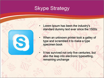 Drawn gifts PowerPoint Template - Slide 8