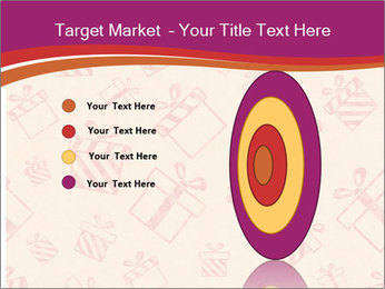 Drawn gifts PowerPoint Template - Slide 84