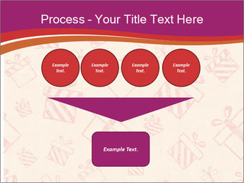 Drawn gifts PowerPoint Template - Slide 93