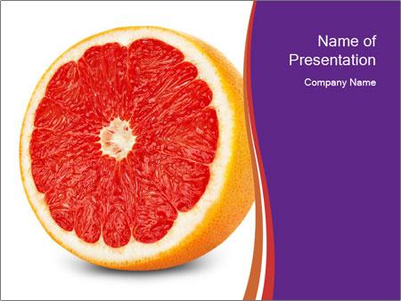 Grapefruit PowerPoint Template