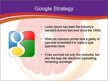 Grapefruit PowerPoint Template - Slide 10