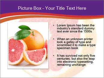 Grapefruit PowerPoint Template - Slide 13