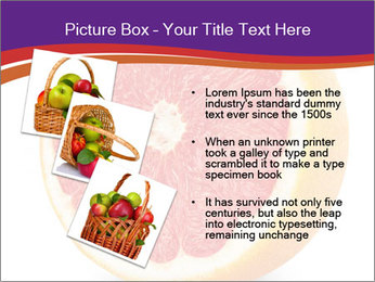 Grapefruit PowerPoint Template - Slide 17