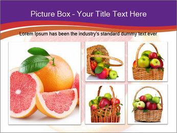 Grapefruit PowerPoint Template - Slide 19