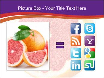 Grapefruit PowerPoint Template - Slide 21