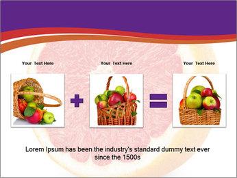 Grapefruit PowerPoint Template - Slide 22