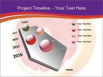 Grapefruit PowerPoint Template - Slide 26
