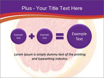 Grapefruit PowerPoint Template - Slide 75