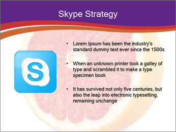 Grapefruit PowerPoint Template - Slide 8