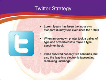 Grapefruit PowerPoint Template - Slide 9