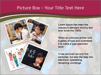Chinese children PowerPoint Template - Slide 23