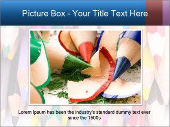 Colour pencils PowerPoint Template - Slide 15