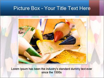 Colour pencils PowerPoint Templates - Slide 16