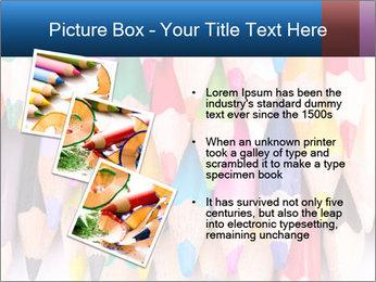 Colour pencils PowerPoint Templates - Slide 17