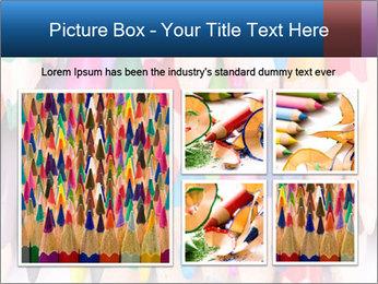 Colour pencils PowerPoint Template - Slide 19