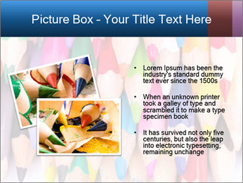 Colour pencils PowerPoint Template - Slide 20