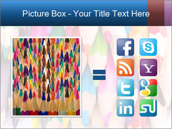 Colour pencils PowerPoint Templates - Slide 21