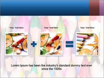 Colour pencils PowerPoint Template - Slide 22