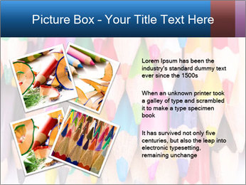Colour pencils PowerPoint Templates - Slide 23