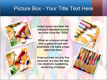 Colour pencils PowerPoint Templates - Slide 24