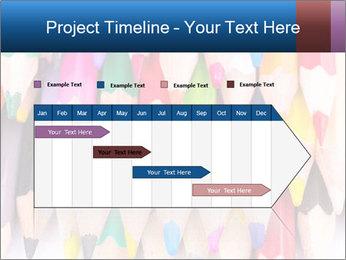Colour pencils PowerPoint Template - Slide 25