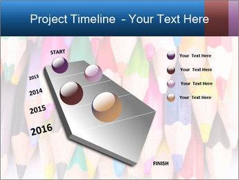 Colour pencils PowerPoint Template - Slide 26