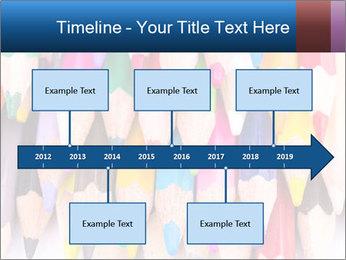 Colour pencils PowerPoint Template - Slide 28
