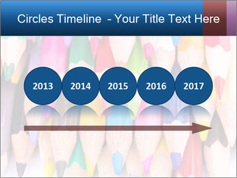 Colour pencils PowerPoint Template - Slide 29
