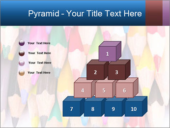Colour pencils PowerPoint Templates - Slide 31