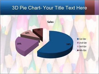 Colour pencils PowerPoint Template - Slide 35
