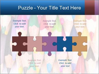 Colour pencils PowerPoint Template - Slide 41