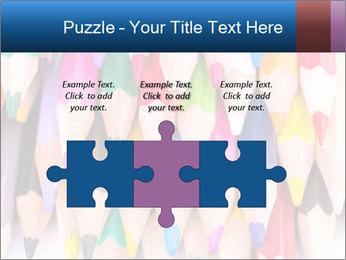 Colour pencils PowerPoint Template - Slide 42