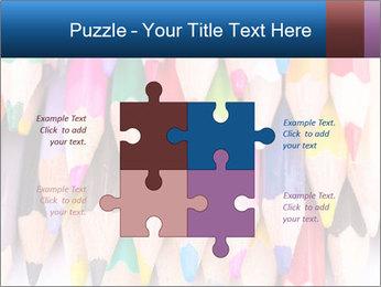 Colour pencils PowerPoint Template - Slide 43