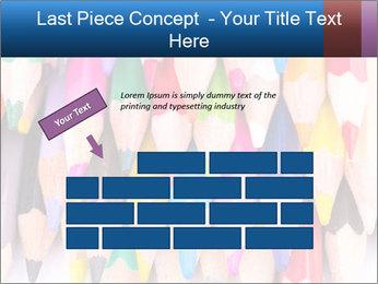 Colour pencils PowerPoint Template - Slide 46