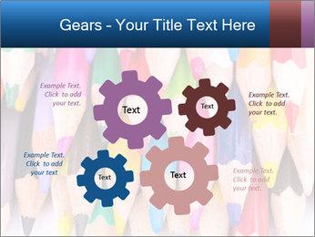Colour pencils PowerPoint Template - Slide 47
