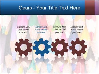 Colour pencils PowerPoint Template - Slide 48