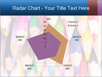 Colour pencils PowerPoint Template - Slide 51