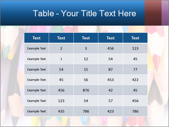 Colour pencils PowerPoint Template - Slide 55