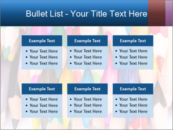 Colour pencils PowerPoint Template - Slide 56
