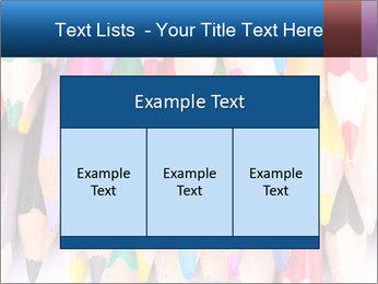 Colour pencils PowerPoint Template - Slide 59