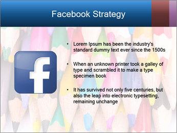 Colour pencils PowerPoint Template - Slide 6