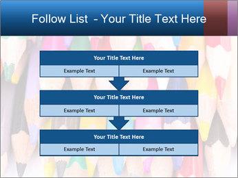 Colour pencils PowerPoint Template - Slide 60