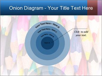 Colour pencils PowerPoint Template - Slide 61