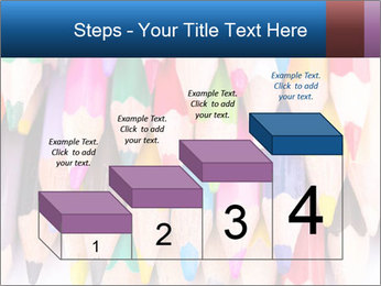 Colour pencils PowerPoint Templates - Slide 64