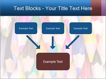 Colour pencils PowerPoint Template - Slide 70