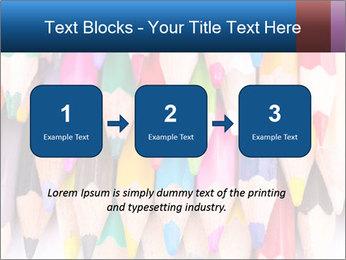Colour pencils PowerPoint Template - Slide 71