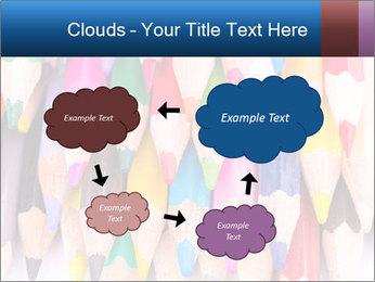 Colour pencils PowerPoint Template - Slide 72