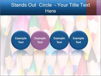 Colour pencils PowerPoint Template - Slide 76