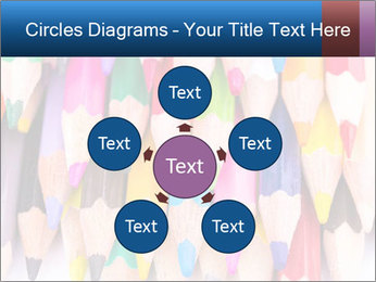 Colour pencils PowerPoint Templates - Slide 78