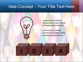 Colour pencils PowerPoint Templates - Slide 80